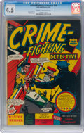 Golden Age (1938-1955):Crime, Crime-Fighting Detective #16 (Star Publications, 1951) CGC VG+ 4.5 Cream to off-white pages....