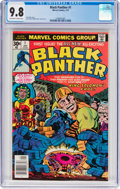 Bronze Age (1970-1979):Superhero, Black Panther #1 (Marvel, 1977) CGC NM/MT 9.8 Off-white to whitepages....
