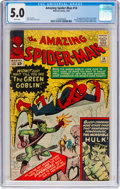 Silver Age (1956-1969):Superhero, The Amazing Spider-Man #14 (Marvel, 1964) CGC VG/FN 5.0 Whitepages....