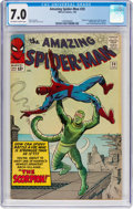 Silver Age (1956-1969):Superhero, The Amazing Spider-Man #20 (Marvel, 1965) CGC FN/VF 7.0 Off-whiteto white pages....