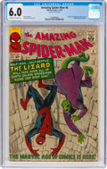 Silver Age (1956-1969):Superhero, The Amazing Spider-Man #6 (Marvel, 1963) CGC FN 6.0 Off-white towhite pages....