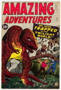 Silver Age (1956-1969):Horror, Amazing Adventures #3 (Marvel, 1961) Condition: VG+....