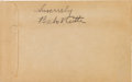 Autographs:Others, 1938-45 Babe Ruth & Other Celebrities Signed Union Pacific & Santa Fe Railroad Ticket Envelopes Lot of 34....