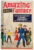 Silver Age (1956-1969):Science Fiction, Amazing Adult Fantasy #12 (Marvel, 1962) Condition: FN....