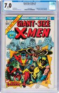 Bronze Age (1970-1979):Superhero, Giant-Size X-Men #1 (Marvel, 1975) CGC FN/VF 7.0 White pages....
