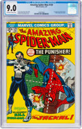 Bronze Age (1970-1979):Superhero, The Amazing Spider-Man #129 (Marvel, 1974) CGC VF/NM 9.0 Off-whiteto white pages....