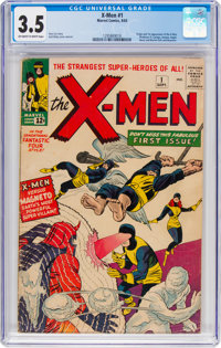 X-Men #1 (Marvel, 1963) CGC VG- 3.5 Off-white to white pages