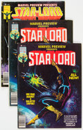Magazines:Superhero, Marvel Preview: Star-Lord Group of 22 (Marvel, 1977-79) Condition:Average VG+.... (Total: 22 Comic Books)