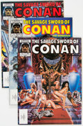 Magazines:Adventure, Savage Sword of Conan Group of 25 (Marvel, 1985-95) Condition: Average NM-.... (Total: 25 Comic Books)