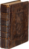 Books, (Justice, Alexander). A General Treatise of Monies andExchanges.. London, 1707. (12), 424 pages. [bound with](Rica...