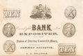 Books, Gallahue, Alpheus C. Counterfeit Bank Note Expositer, or,a Short System of Detecting Counterfeit Bank Notes With Cert...