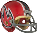 Football Collectibles:Helmets, 1974 Chicago Fire Game Worn World Football League Helmet - One Year Style! ...