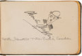 Miscellaneous Collectibles:General, 1920's Celebrities Signed Autograph Album with Charlie Chaplin, William Randolph Hearst....