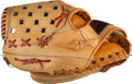 Baseball Collectibles:Others, Early 1980's Baseball Greats Multi-Signed Glove with Mantle & Maris....
