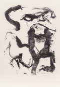 Prints & Multiples, Willem de Kooning (1904-1997). Figure at Gerard Beach, 1971. Lithograph on wove paper. 40 x 28-1/4 inches (101.6 x 71.8 ...