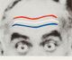 John Baldessari (b. 1931) Raised Eyebrows/Furrowed Foreheads, 2008 Screenprint in colors on wove paper 12 x 14 inches