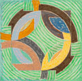Prints & Multiples, Frank Stella (b. 1936). Polar Coordinates IV, 1980. Offset lithograph, screenprint and letterpress in colors on Arches C...