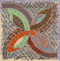 Prints & Multiples, Frank Stella (b. 1936). Polar Coordinates I, from Polar Co-Ordinates for Ronnie Peterson, 1980. Offset lithograph an...