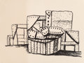 Fine Art - Work on Paper:Print, Philip Guston (1913-1980). Studio Forms, 1980. Lithograph onArches Cover paper. 32 x 42-1/2 inches (81.3 x 108.0 cm) (s...