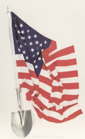 Robert Rauschenberg (1925-2008) Democratic Presidential Campaign Print, 2000 Ink jet print in colors