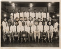 Boxing Collectibles:Autographs, 1960 Intercity Golden Gloves Team Signed Photograph with CassiusClay....