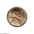 Lincoln Cents: , 1924-S 1C MS65 Red PCGS. The 1924-S is another of the significant strike rarities from this decade originating at the branc...
