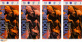 Football Collectibles:Tickets, 1971 Super Bowl V Ticket Stubs Lot of 4. ...