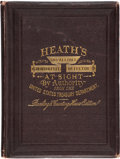 Books, Heath, Laban. Heath's Greatly Improved and Enlarged InfallibleGovernment Counterfeit Detector, at Sight... ...