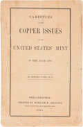 Books, Maris, Edward. Varieties of the Copper Issues of the UnitedStates Mint in the Year 1794. ...