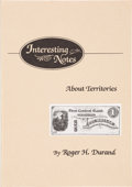 Books, Durand, Roger H. Interesting Notes about History. (Rehoboth), 1990. [with] Durand, Roger H. Interesting Notes ab...