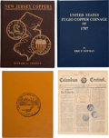 Books, [Confederation Era Coppers]. Carlotto, Tony. The Copper Coins of Vermont and Those Bearing the Vermont Name. ...