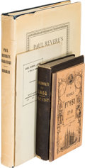 Books, [Americana]. Four Americana Titles. Includes: The Deseret First Book, published in the Mormon Deseret alphabet in 1868 b...