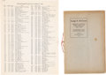 Books, American Numismatic Society. ANS Inventory of Large Cents,1793-1814. New York, undated. Photocopy of the Society'sdeta...
