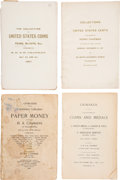 Books, Chapman, S.H. and H. Numismatic Auction Catalogues. Nine sale catalogues issued by the brothers jointly or severally, includ...
