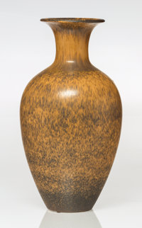 Gunnar Nylund (Swedish, 1904-1997) Large Baluster Vase, circa 1950, Rörstrand Glazed ceramic 17-1