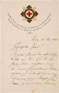Autographs:Non-American, Theodor Billroth Autograph Letter Signed...