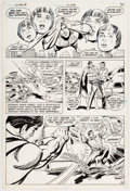 Curt Swan and Sal Amendola The Superman Movie Special #1 Story Page 36 Original  Comic Art