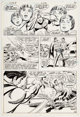 Curt Swan and Sal Amendola The Superman Movie Special #1 Story Page 36 Original Art (DC, 1983)