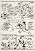 Curt Swan and Frank Chiaramonte Superman #359 Story Page 10 Original Art (DC, 19 Comic Art