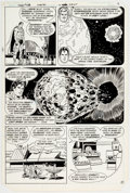 Curt Swan and Frank Chiaramonte Superman #372 Story Page 7 Original Art (DC, 198 Comic Art