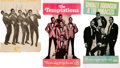 Music Memorabilia:Posters, Smoky & The Miracles/Temptations/Four Tops Signed Motown/GordyPromotional Displays (Circa late 1960s). Very Rare....