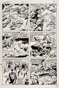 Original Comic Art:Panel Pages, John Buscema and Tom Palmer The Avengers #84 Story Page 14Original Art (Marvel, 1971)....