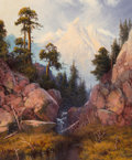 Paintings, A.D. Greer (American, 1904-1998). Mountain Stream. Oil on canvas. 24 x 20 inches (61.0 x 50.8 cm). Signed lower left: ...