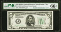Error Notes:Double Denominations, Fr. 1960-J $5/$10 Double Denomination 1934D Federal Reserve Note. PMG Gem Uncirculated 66 EPQ.. ...
