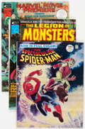 Magazines:Miscellaneous, Marvel Magazines Miscellaneous Group of 21 (Marvel, 1968-93)Condition: Average VF/NM.... (Total: 21 Comic Books)