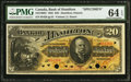 Canadian Currency, Hamilton, ON- Bank of Hamilton $20 1.6.1892 Ch. # 345-16-06SSpecimen PMG Choice Uncirculated 64 EPQ.. ...