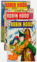 Silver Age (1956-1969):Adventure, Robin Hood Tales #1-4 Group (DC, 1957-58).... (Total: 4 Comic Books)