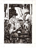Guillaume Sorel - Role Playing Game Related Spot Illustration Original Art (c. 1 Comic Art
