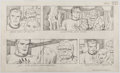 Animation Art:Production Drawing, Jack Kirby The New Fantastic Four Episode #2 Animation Storyboard #19 Original Art (DePatie-Freleng Enterprises, 1...