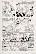 Joe Staton and Mark Farmer Green Lantern #201 Story Page 22 Original Art (DC, 19 Comic Art